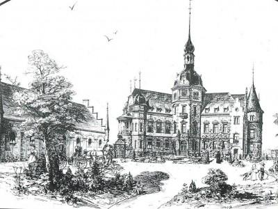 Schlosshotel-Ralswiek-historische-Zeichnung